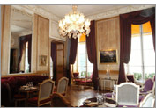 The Music Room of the 1728 restaurant, with it's original 18th century paneling © 1728