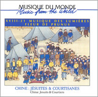 Music from the World - Jésuites et Courtisanes